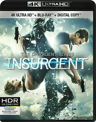 Divergent Insurgent 4K-Blu-ray New and Factory Sealed