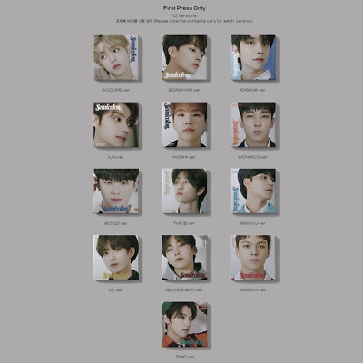 SEVENTEEN -  Semicolon ALBUM ONLY WITH  WEAVING KIT NO MINI CARD OR PHOTOCARD