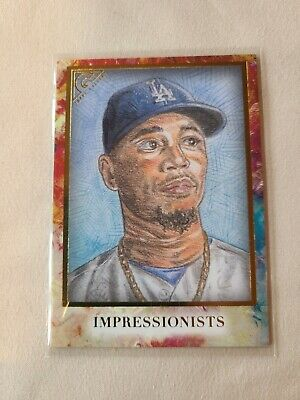 2020 Topps Gallery Mookie Betts IMPRESSIONISTS Los Angeles Dodgers
