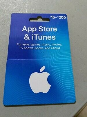 App Store - iTunes Gift Card - 100 Value-