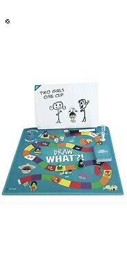Draw What - Fun Adult Party Board Game Complete Brand New