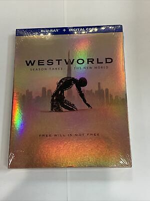 Westworld Season Three The New World New Blu-ray - Digital