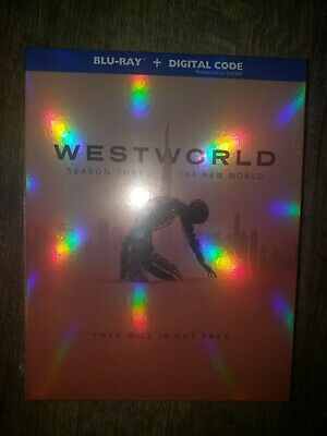 Westworld Season 3 The New World Blu Ray No Digital