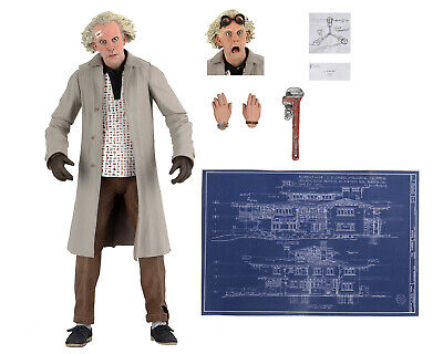 Back to The Future Ultimate Doc Brown 7 Action Figure - NECA