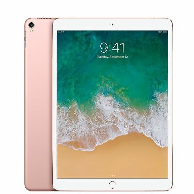 NEW Apple iPad Pro 1st Gen- 128GB Wi-Fi - Cellular Unlocked 9-7 in- Rose Gold