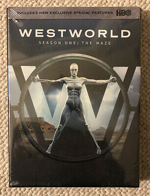 Westworld Season 1 DVD - NEW Sealed