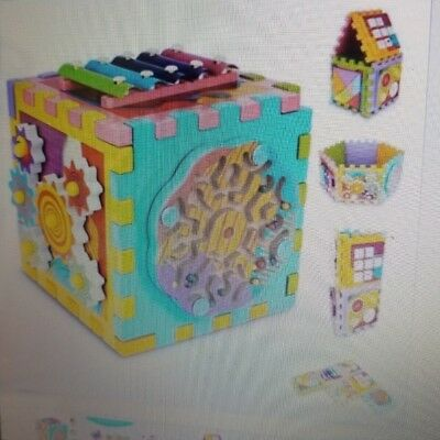 Activity Cube 6 in 1 Baby Toy
