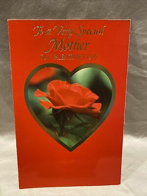 Mother's Valentine's Day Greeting Card wEnvelope NEW