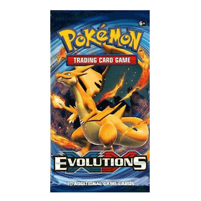 Pokemon XY Evolutions Factory Sealed Booster Pack  1 PACK