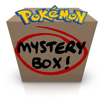 MISTERY POKEMON BOX LOTTO VINTAGE AND NEW HOLO and 1ST EDITION