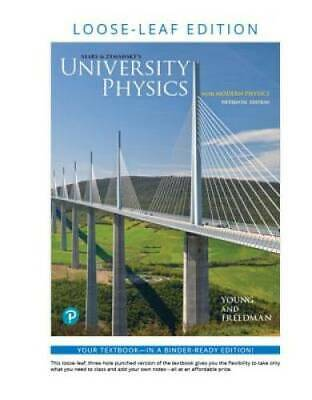 University Physics with Modern Physics Loose-Leaf Edition 1 - VERY GOOD