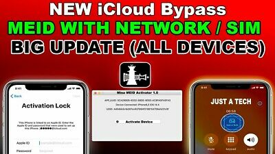 APPLE ICLOUD bypass MEIDGSM with signal