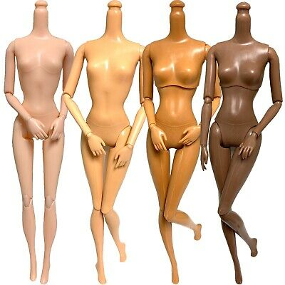 DIY OOAK 4 Replacement 11-5 Doll Body Lot Jointed Articulated Most Popular