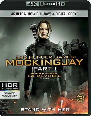 The Hunger Games Mockingjay Part 1 4K-Blu-ray New and Factory Sealed