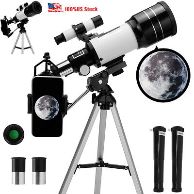 Beginner Astronomical Telescope Night Vision For HD Viewing Space Star Moon USA