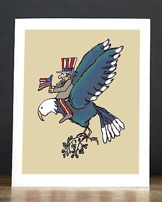 Greeting Card Fourth of July
