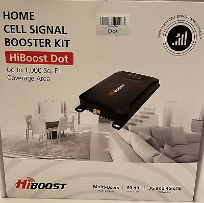 NO RESERVE HiBoost Dot Cell Phone Signal Booster