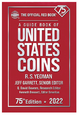 2022 Red Book Price Guide 75th Edition Hardbound IN STOCK - SHIPPING NOW
