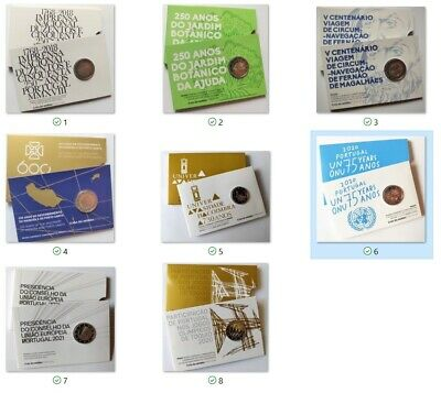 PORTUGAL 2 euro PP  PROOF 2018 - 2021