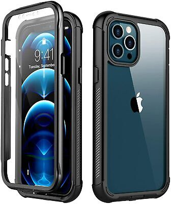 For iPhone 12 Pro Max 12 Mini Case Shockproof Waterproof Screen Protector Cover
