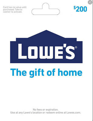 Lowes Shopping Spree - Valued at 200
