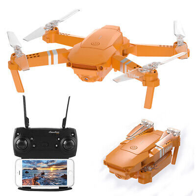 2021 FPV Wifi Drone With HD Camera Aircraft Foldable Quadcopter Selfie Toys