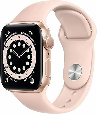 Apple Watch Series 6 GPS 40mm Gold Case  Pink Sand Band - NEW IN SEALED BOX
