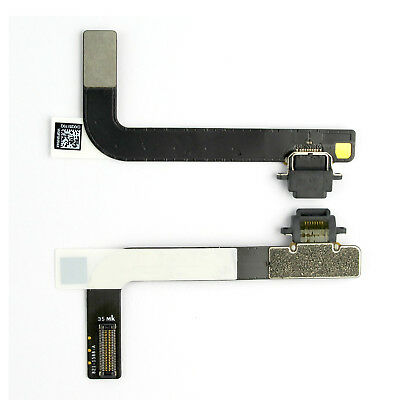 New Charging Dock Port Connector Flex Cable for Apple iPad 4 4th Gen A1458 Black