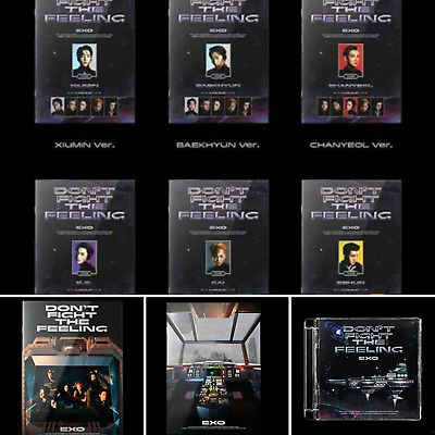EXO SPECIAL ALBUM DON'T FIGHT THE FEELING SELECT VER- - POSTER KPOPPIN USA