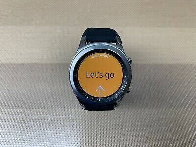 NEW Samsung Galaxy Gear S3 Classic 46mm Stainless Steel Smart Watch SM-R770