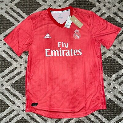 adidas Real Madrid Menss Authentic 3rd Jersey 20182019 XL