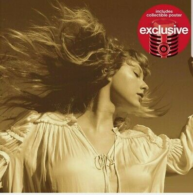 TAYLOR SWIFT - Fearless Taylors Version Target Exclusive CD 2021 NEW