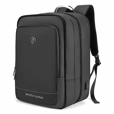 40 L Large Capacity Laptop Backpack 17 Inch Expandable Daypack Waterproof D3O7