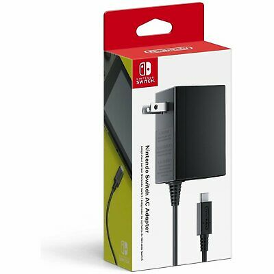 Official Nintendo Switch AC Power Supply USB-C Charger - NEW
