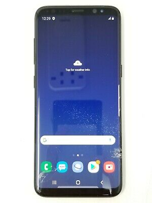 Samsung Galaxy S8 64GB Black (Unlocked)   Fair Condition (See Pictures)