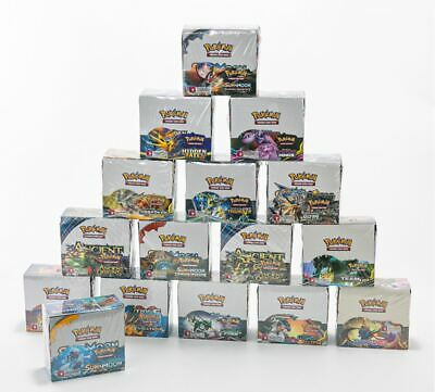 Pokemon display 36 Booster NEUF  19 BOX VERSION choise your one