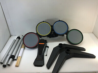 Harmonix 822148 Rock Band Wired Drum Set PS2 - PS3 with Pedal Drum Sticks