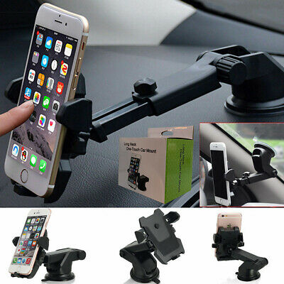 For Universal Mobile Cell Phone GPS 360° Mount Holder Car Windshield Stand