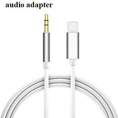 For iPhone 7 8 Plus X XR 11 12 Pro Max 8 Pin to 3-5mm AUX Audio Car Adapter Cord