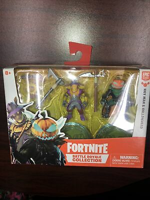 Fortnite Battle Royale Collection Duo Pack Hay Man - Hollowhead Mini Figures New