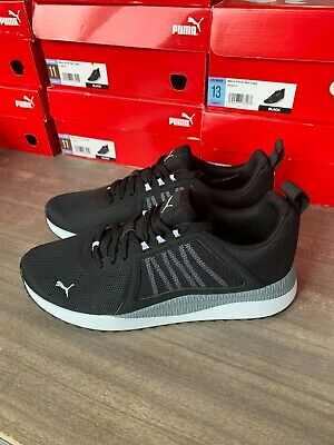 NEW Mens PUMA Pacer Net Cage Black Athletic Training Shoes Softfoam Pick Size