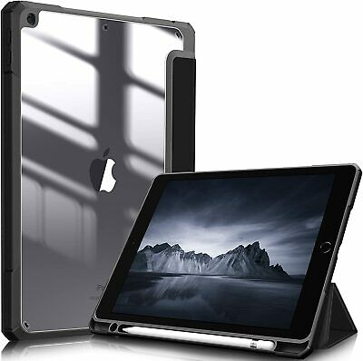 For iPad 9th Generation 2021 10-2 Shockproof Case Clear Transparent Back Cover