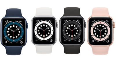 Apple Watch Series 6 40mm 44mm GPS - Cellular Space Gray Silver Gold Red Blue