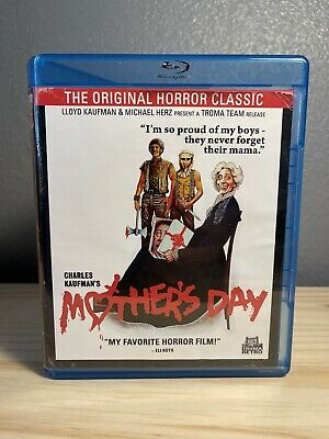 Troma's MOTHERS DAY - RARE - HORROR BLU RAY Lloyd and Charles Kaufman 1980