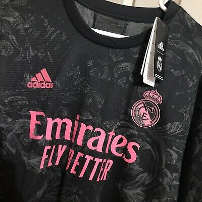Real Madrid 2020 2021 Adidas Away Jersey Shirt Size XL AUTHENTIC