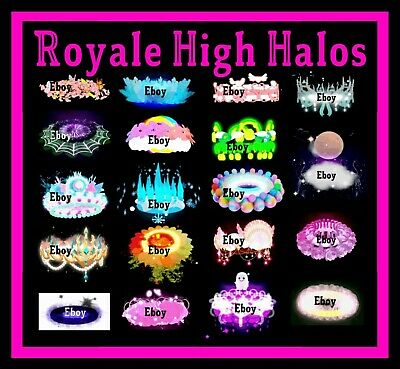 ROBLOX ROYALE HIGH - HALO - ACCESSORIES RH DIAMONDS - CHEAPEST PRICES