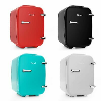 CAYNEL Mini Fridge Cooler and Warmer 4Liter  6Can Portable Compact