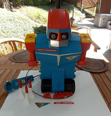 IDEAL ROBOT COMMANDO - W ADDITIONAL PARTS REPRO PARTS AND DOCUMENTS