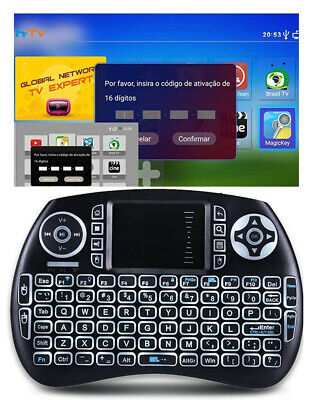 Brazil IPTV Renew Code With Mini Keyboard Compatible with HTV 3 5 6 7 A1 A2 A3