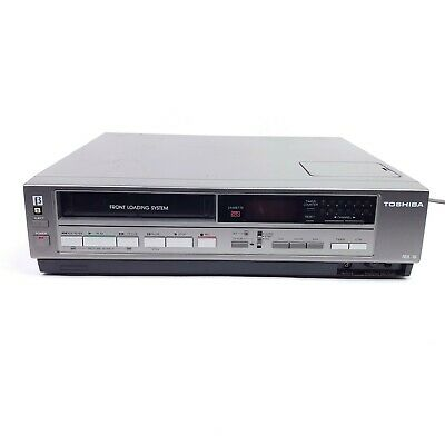For Repair Vintage Toshiba V-M415 Betamax Beta Tape VCR Player Video Front Load